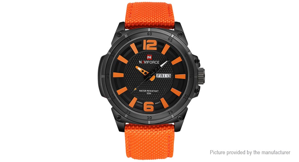 NAVIFORCE 4083 Men's Analog Quartz Sports Wrist Watch