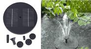 Outdoor Solar Powered Lake Garden Floating Water Fountain