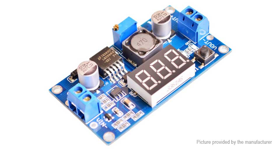 Product Image: dc-dc-4-40v-to-1-25-37v-3a-buck-converter