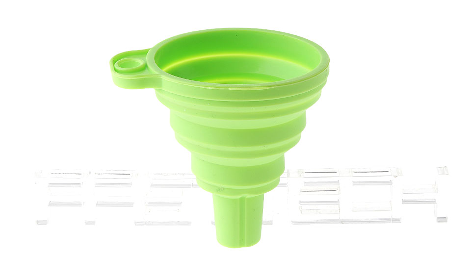 silicone collapsible mini filling liquid oil water funnel kitchen tools - Kitchen Funnel