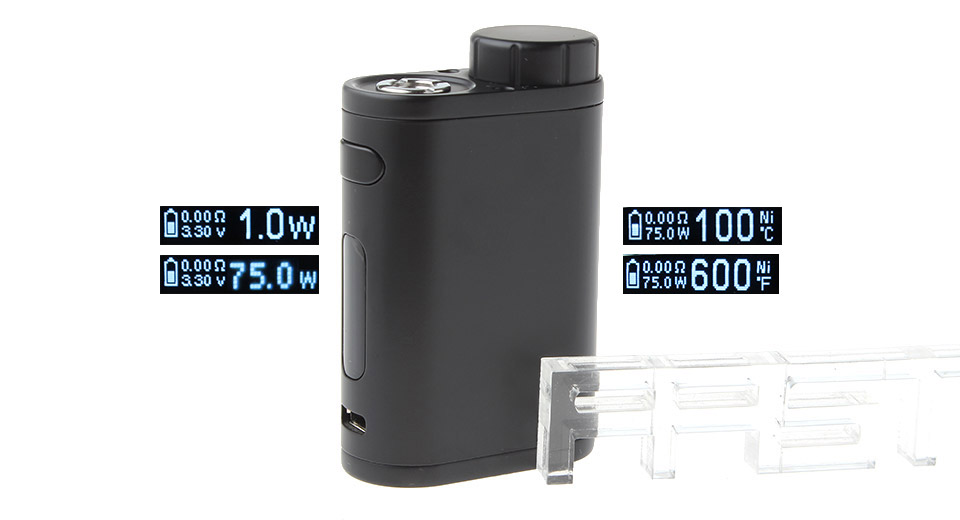 Authentic iStick Pico 75W TC VW APV Box