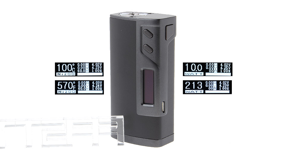Product Image: authentic-sigelei-fuchai-213w-tc-vw-apv-box-mod