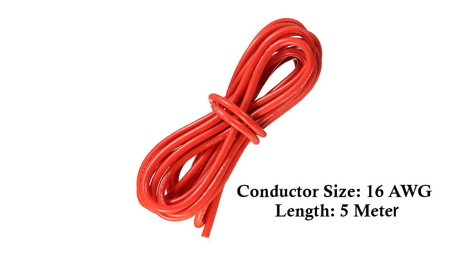 Product Image: soft-silicone-flexible-wire-cable-500cm