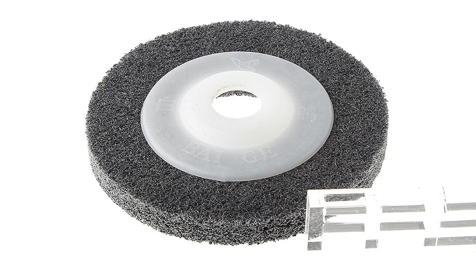 "4"" 100mm Nylon Fiber Polisher Buffing Pad Wheel"