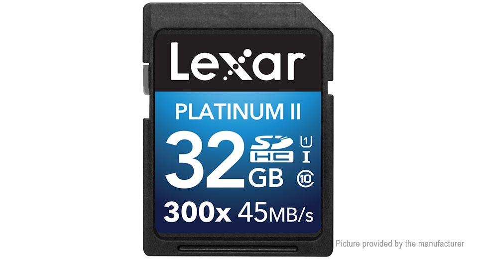 Product Image: lexar-sd32g-300x-sd-memory-card-32gb