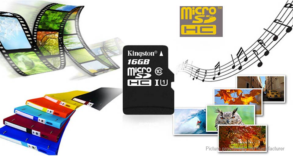 Kingston Class 10 microSD Memory Card (32GB)