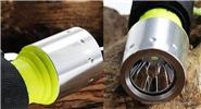 1*LED 1-Mode 1600LM Diving LED Flashlight Set