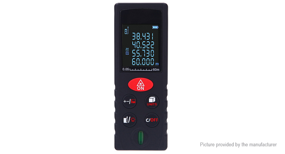 Product Image: kxl-d60-60m-handheld-laser-distance-measuring
