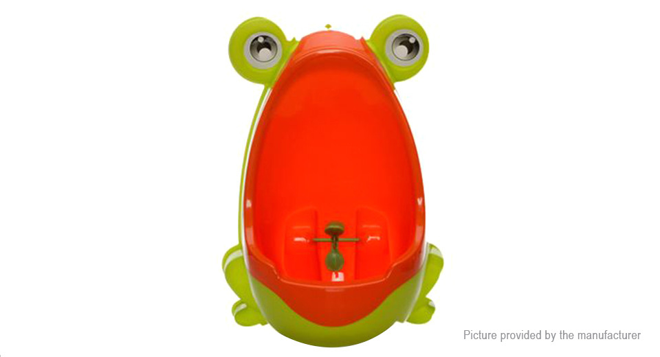 Frog Shaped Children Kids Potty Removable Toilet Pee Trainer