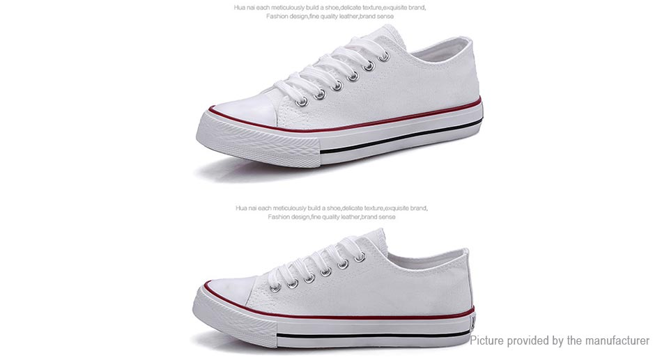 26 63 s lace up low top canvas shoes sneakers size