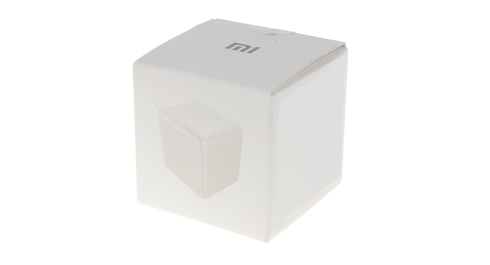authentic xiaomi mi mfkzq01lm smart home cube remote controller 6 action control 2. Black Bedroom Furniture Sets. Home Design Ideas