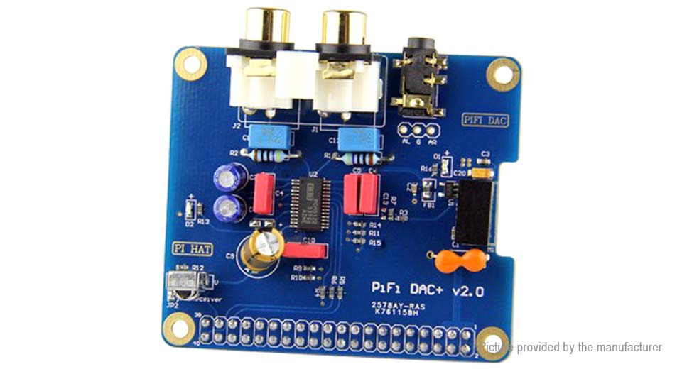 Product Image: pifi-hifi-dac-digital-audio-card-pinboard-for