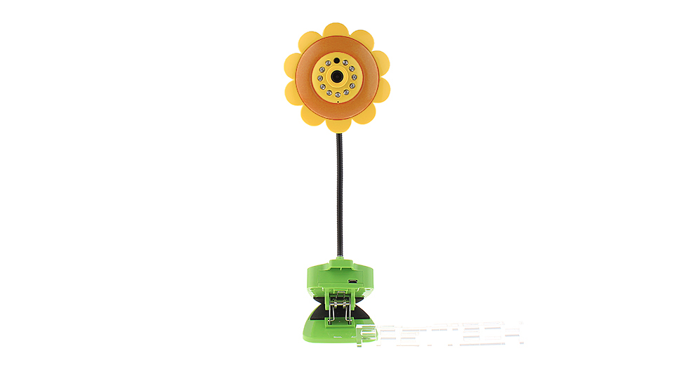 Product Image: sunflower-shaped-2-4ghz-wireless-baby-monitor-ip