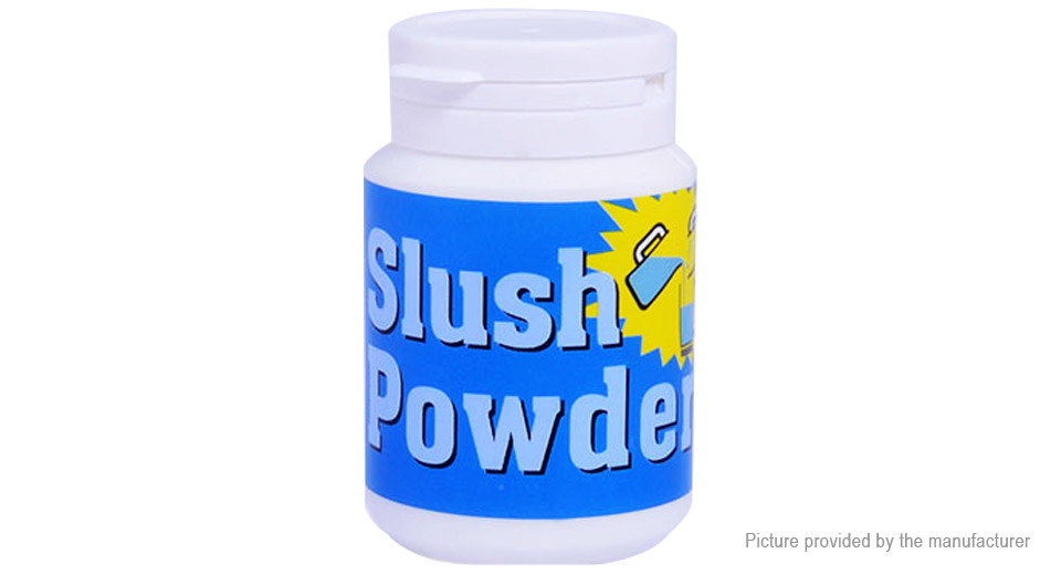 how to make slush powder