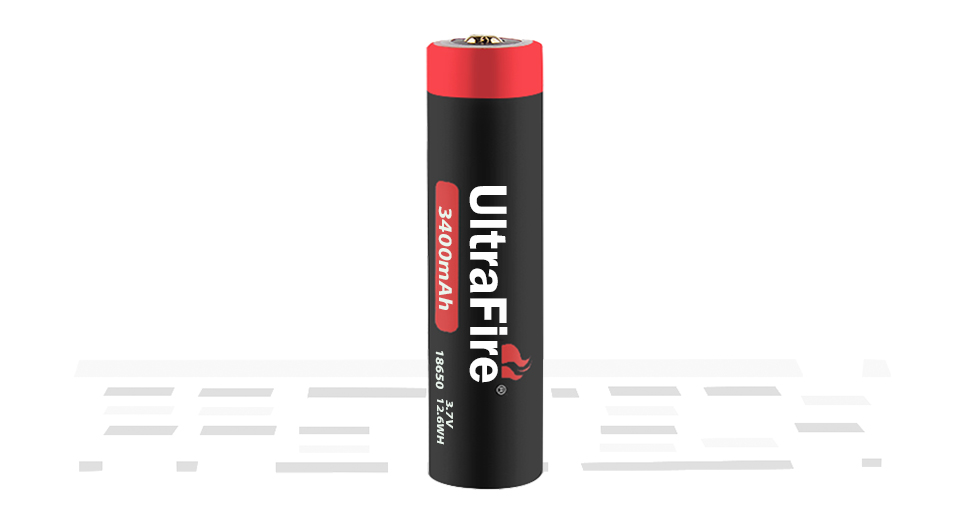 Product Image: ultrafire-inr-18650-3-7v-3400mah-rechargeable-li
