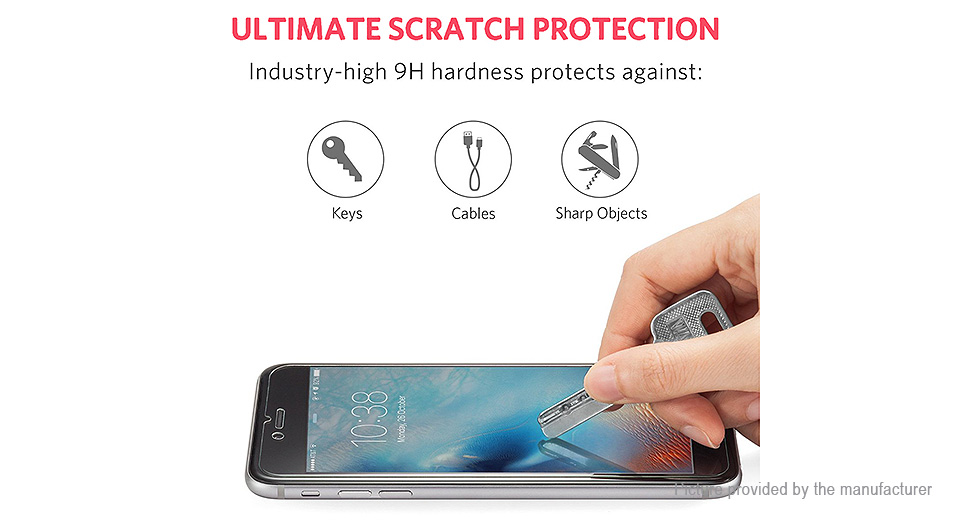 2.5D Tempered Glass Screen Protector for Samsung Galaxy A3 (2016)