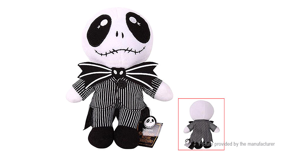 The Nightmare Before Christmas Jack Stuffed Cartoon Doll Plush Soft Toy Home Textile 5351100
