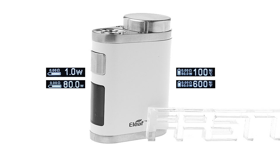 *SALE* Authentic Eleaf iStick Pico Mega 80W TC VW APV Box Mod