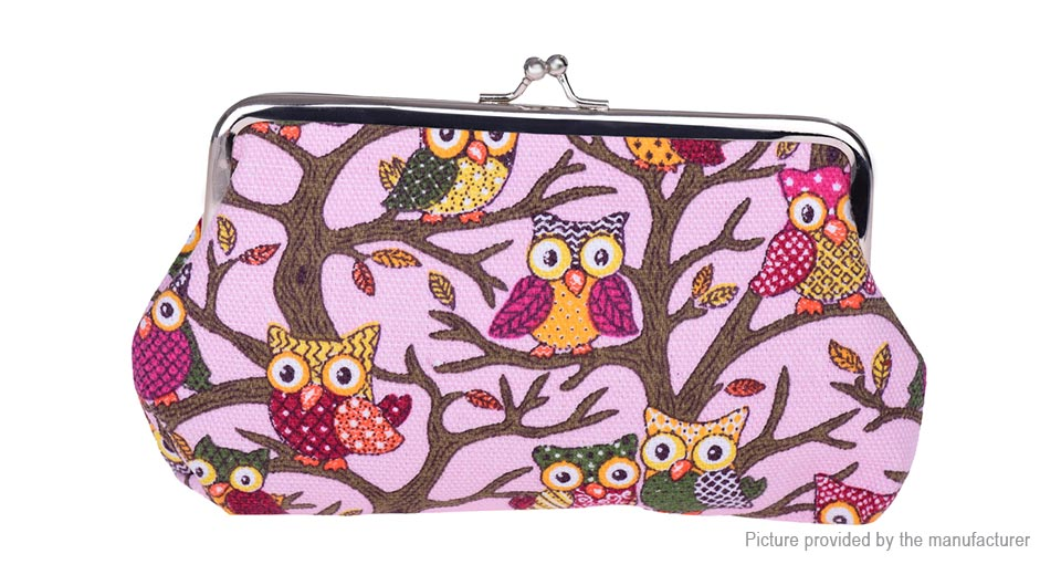 Product Image: owl-pattern-women-s-coin-purse-wallet-cell-phone