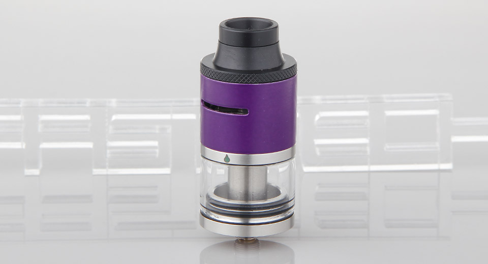 $8.10 Limitless Styled RDTA Rebuildable Dripping Tank Atomizer - 4ml / stainless steel + glass / 24mm diameter at FastTech - Great Gadgets, Great Prices