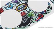 Graffiti PVC Decal Sticker for XIRO XPLORER Fuselage / Remote Control