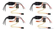 EMAX BLHeli Series 12A Brushless ESC Electronic Speed Controller (4-Pack)