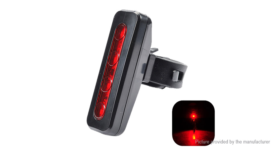 Leadbike A116 LED Bicycle Front / Rear Warning Light Bike Lights 5482200