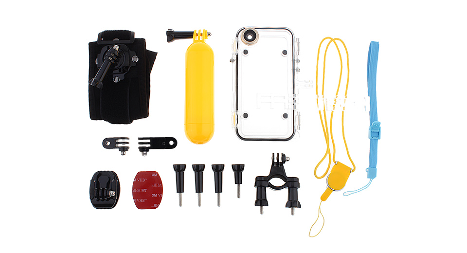 Waterproof Housing Case Kit for iPhone 6/6s (13 Pieces) Cases & Armbands 5496902