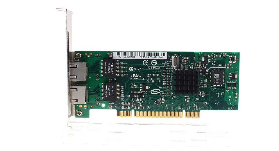 PCIe to 2*RJ-45 Gigabit Ethernet Network Adapter PCI Cards 5503000