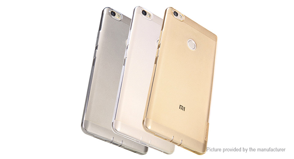 Nillkin TPU Protective Back Case for Xiaomi Max (Tawny) Cases 5504500