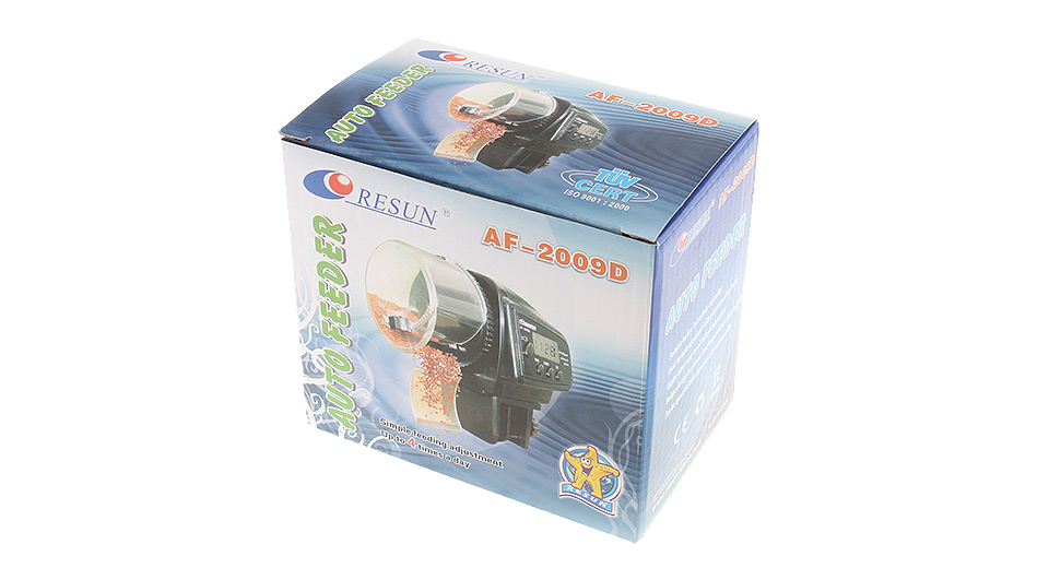 Resun AF-2009D Aquarium Digital Automatic Auto Fish Food Feeder