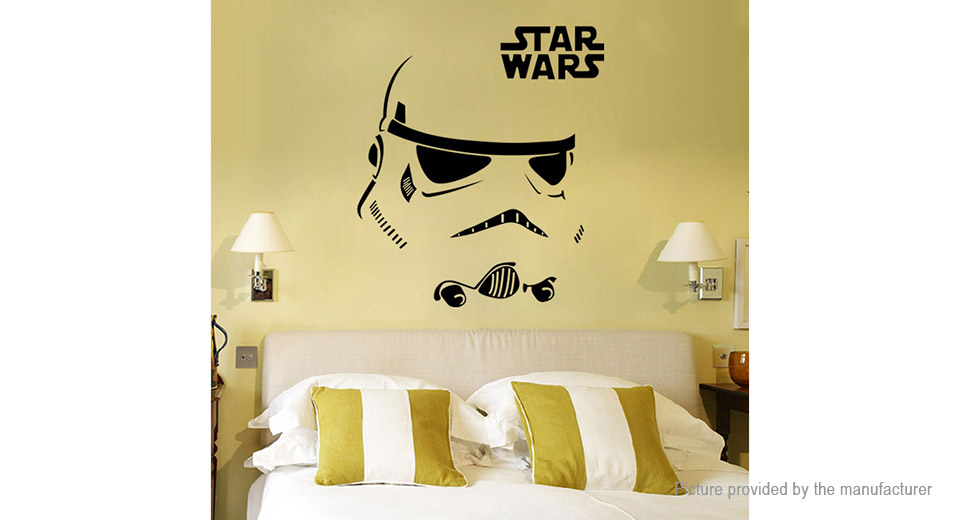 Star Wars Stormtrooper Styled Removable Wall Sticker