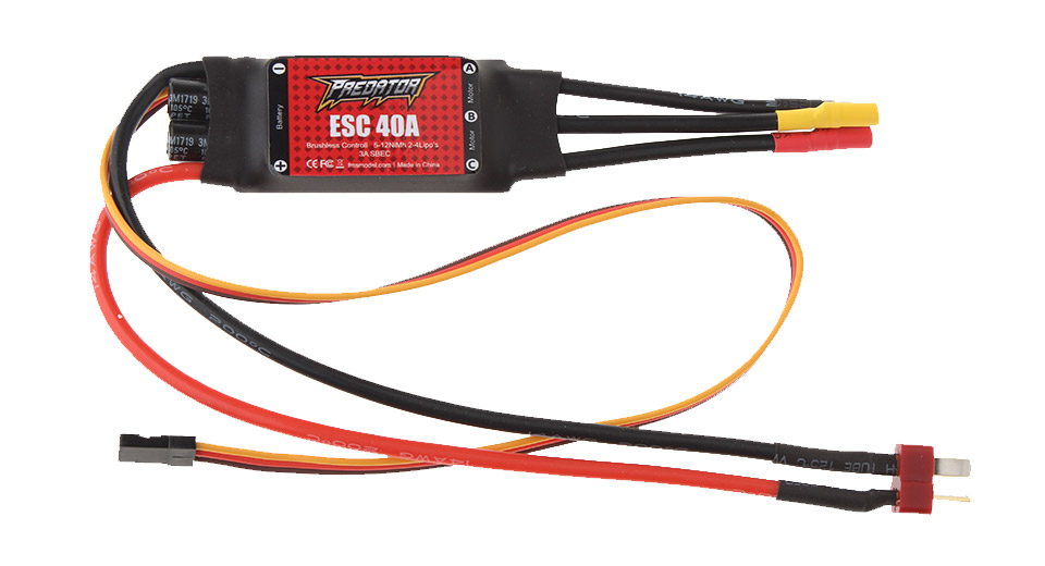 Product Image: fms-40a-brushless-esc-electric-speed-controller-t