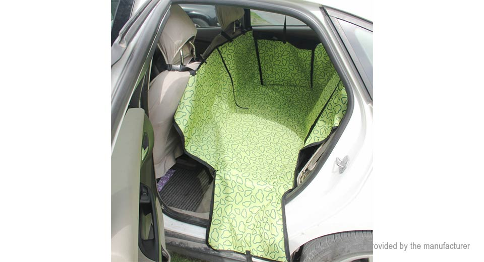 back mat dog rear seat bed cat store blanket hammock cradle product pet car waterproof pets cover cushion