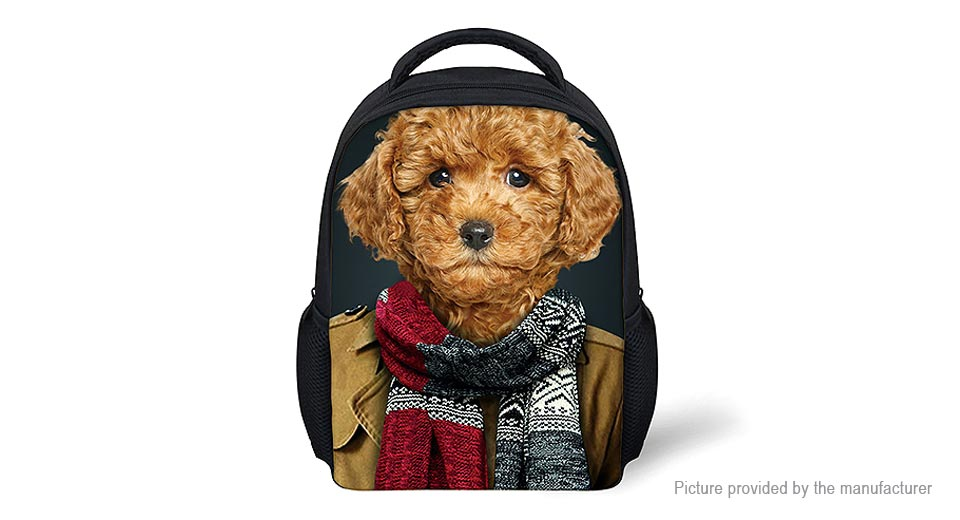 Product Image: for-u-designs-3d-dog-print-14-kids-school-backpack
