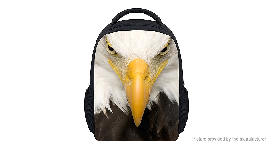 Product Image: for-u-designs-3d-beak-print-kids-school-backpack