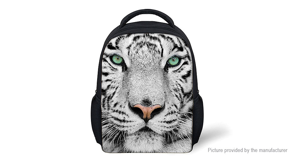 Product Image: for-u-designs-3d-tiger-print-kids-school-backpack