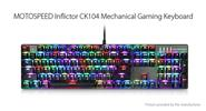 Authentic Motospeed CK104 USB Wired Mechanical Gaming Keyboard