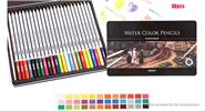 DELI Water Color Soluble Drawing Pencil (36 Colors/36 Pieces)