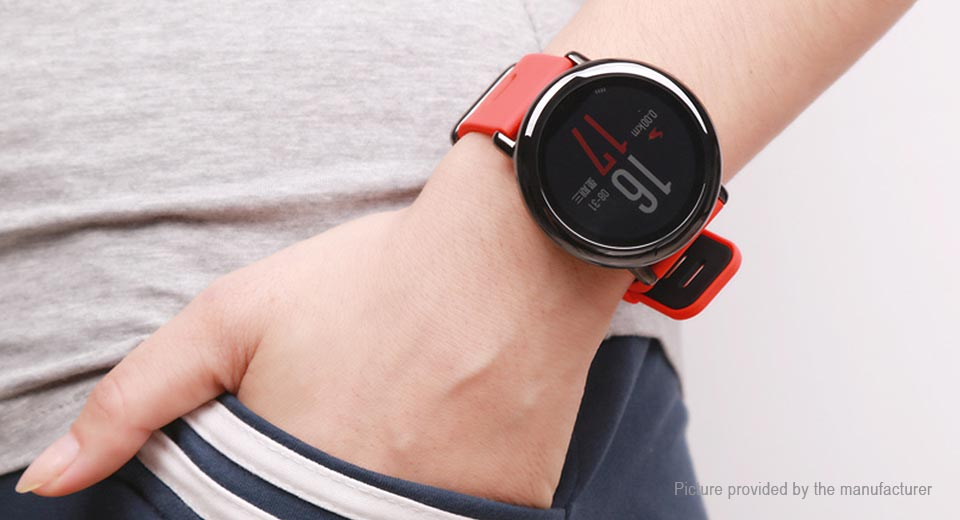 "Authentic Xiaomi-backed Huami Amazfit 1.34"" Bluetooth V4.0 Sports Smart Watch"