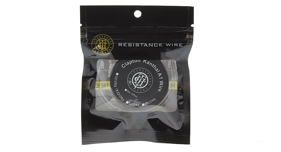 $3.11 Thunderhead Creations Clapton Kanthal A1 Heating Wire for RBA ...