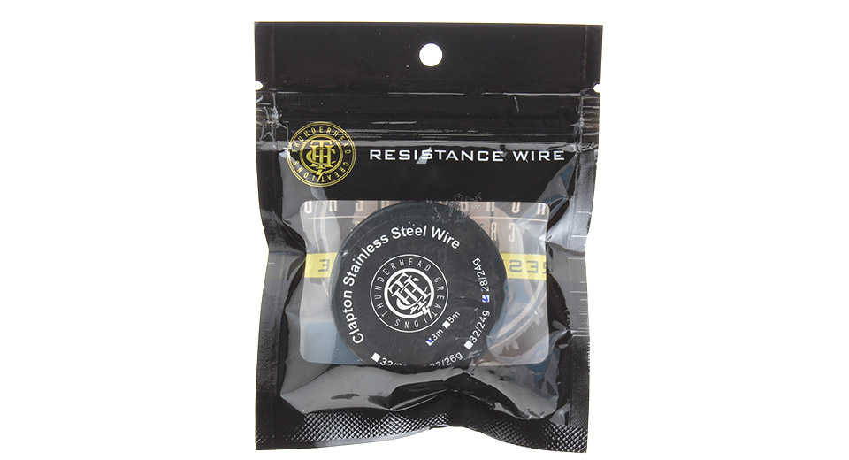 $3.53 Thunderhead Creations Clapton Stainless Steel Heating Wire for ...