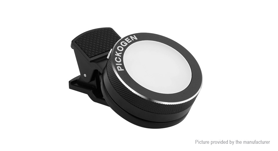 PICKOGEN Clip-on Selfie LED Flash Light
