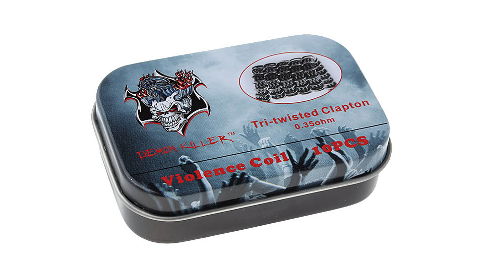 $4.89 Demon Killer Kanthal A1 & 316L Stainless Steel Tri-twisted ...