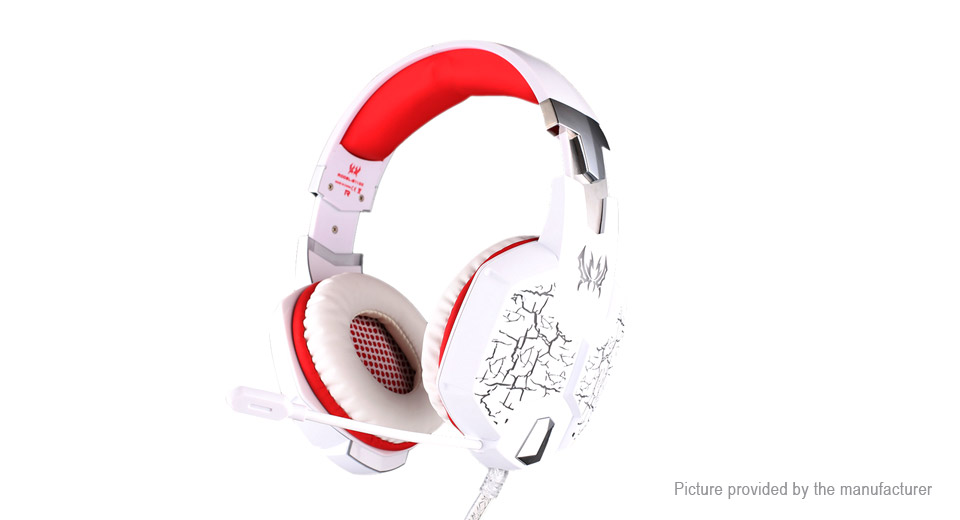 $30.24 KOTION EACH G1100 USB/3.5mm Wired Vibration Gaming Headset ...