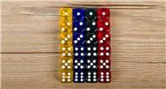 16mm Acrylic Dice Portable Table Games Entertainment Tool (24 Pieces)