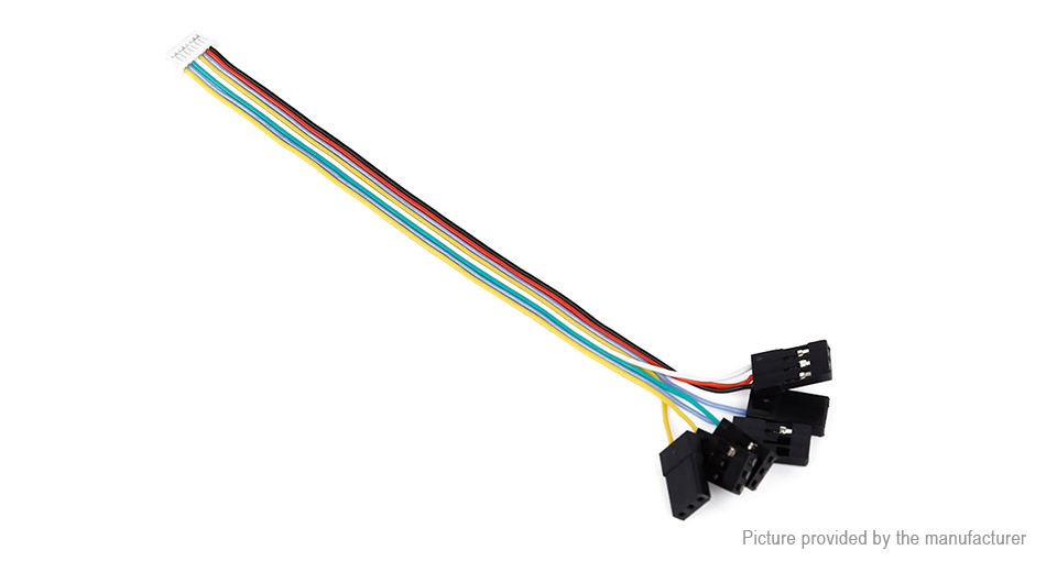 $1 37 CC3D Flight Controller 8 Pin Connection Wire Receiver Cable Set at  FastTech - Worldwide Free Shipping