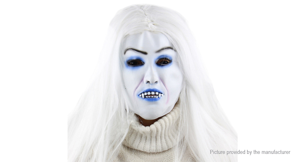 Product Image: full-face-toothy-zombie-bride-styled-halloween
