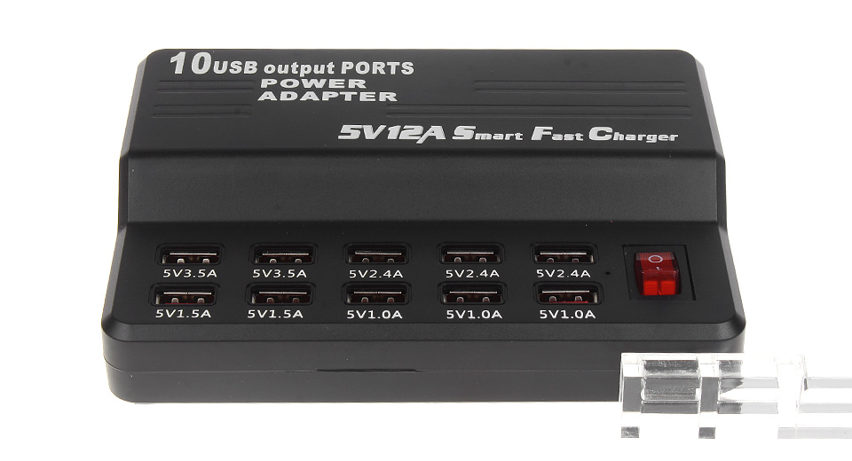 Product Image: 12-port-usb-wall-smart-fast-charger-power-adapter