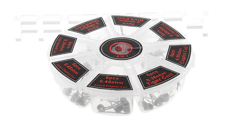 Product Image: authentic-mkws-kanthal-a1-pre-coiled-wires-for